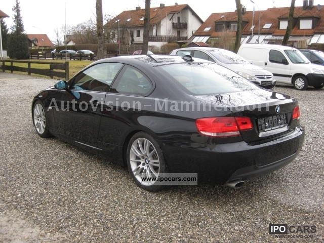 2008 bmw 320d coupe m package ii leather brown car photo and specs. Black Bedroom Furniture Sets. Home Design Ideas