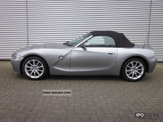 2006 Bmw Z4 2 0i Roadster Leather Lmv Airco Car