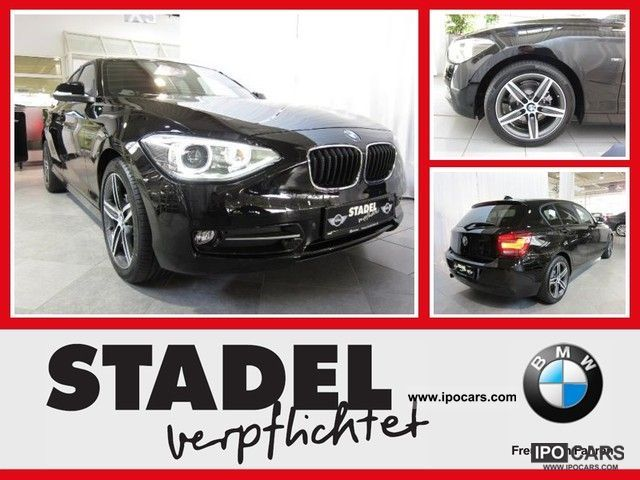 2012 BMW  116i 5 door leather / navi / PDC / heated seats Limousine Demonstration Vehicle photo