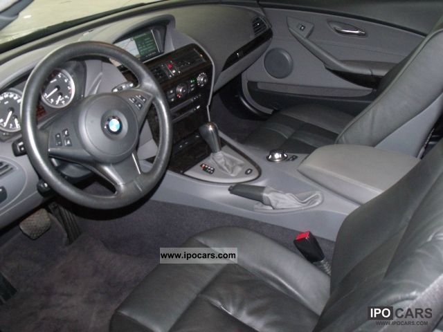 2005 BMW 630i Convertible Automatic NaviProf leather xenon Bluet ...