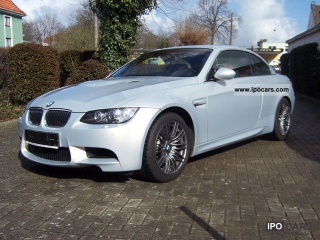 2008 BMW  M3 Convertible Drivelogic, 1.Hand, DKG, individual Cabrio / roadster Used vehicle photo