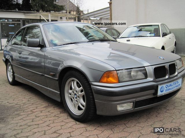 1996 BMW  320i Automatic org.124tkm checkbook 1.Hand Sports car/Coupe Used vehicle photo
