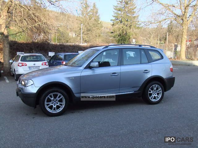 2005 BMW  X3 3.0d Automatic air conditioning + Xenon + PDC + APC Off-road Vehicle/Pickup Truck Used vehicle photo