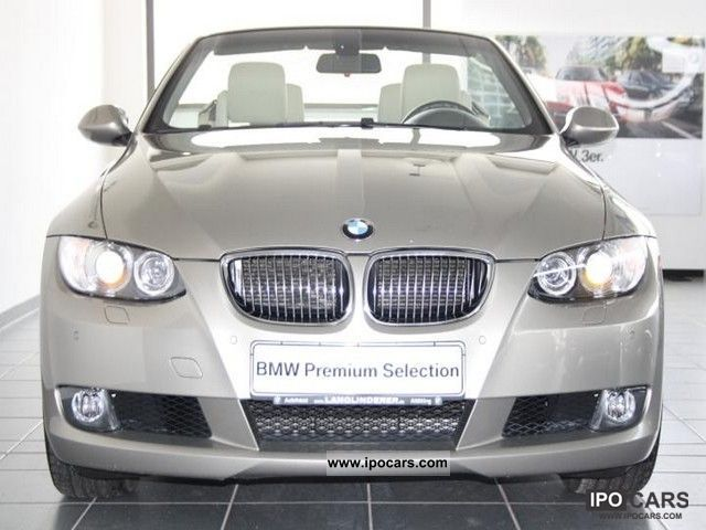2007 bmw 325i convertible leather climate mfl xenon pdc. Black Bedroom Furniture Sets. Home Design Ideas