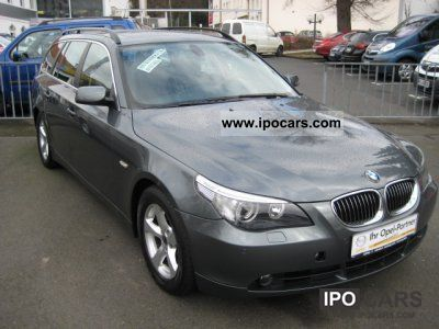 2007 BMW  525d Touring Aut. DPF Without Navigation System Display Estate Car Used vehicle photo