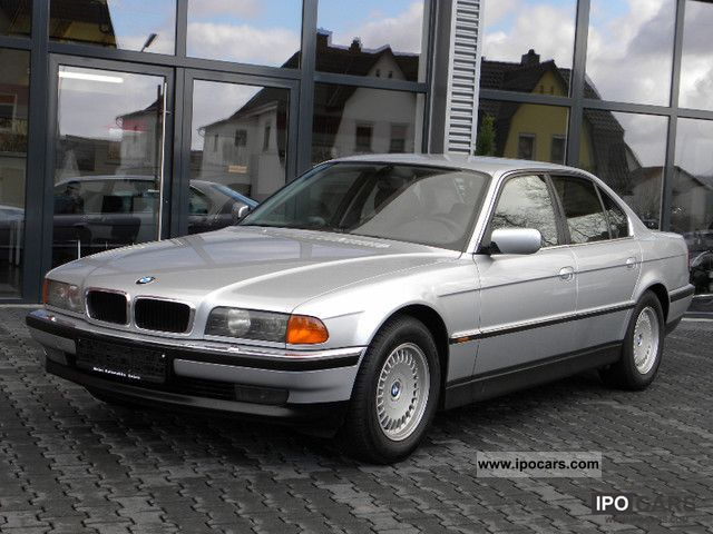 Clean Leather Car Seats >> 1996 BMW 740i / 1 hand / Leather / Navi / Xenon / very clean - Car Photo and Specs
