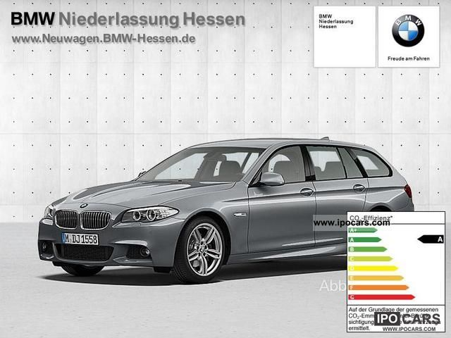 2011 BMW  525d xDrive Touring Auto leather M Sport Package PD Estate Car New vehicle photo