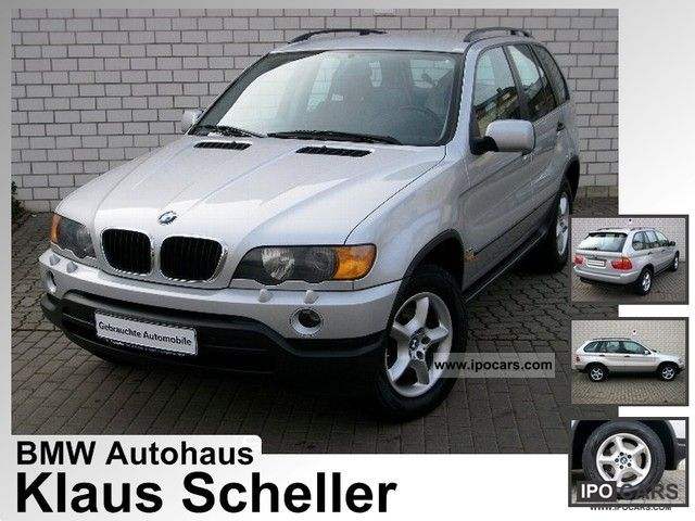 2002 Bmw X5 3 0d Ahk Standhzg Xenon Pdc Klima Off Road Vehicle Pickup Truck