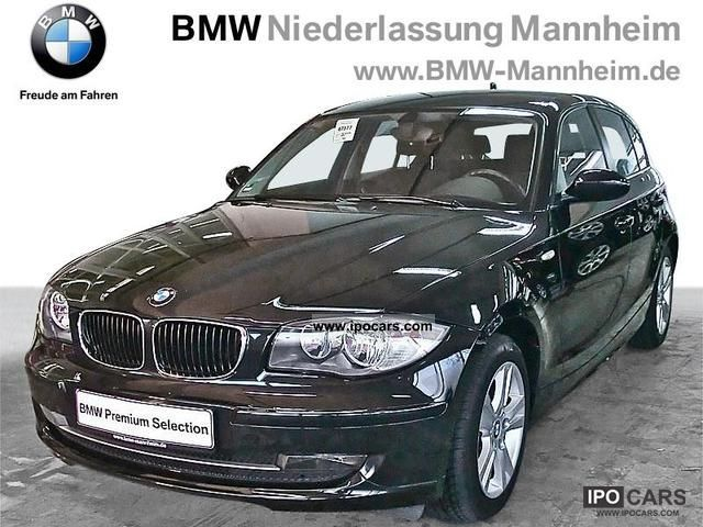 2008 BMW  118i 5-door heated seats climate control air Limousine Used vehicle photo