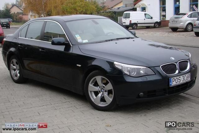 BMW  530 3.0i INDIVIDUAL GAZ SALON PL 2006 Liquefied Petroleum Gas Cars (LPG, GPL, propane) photo