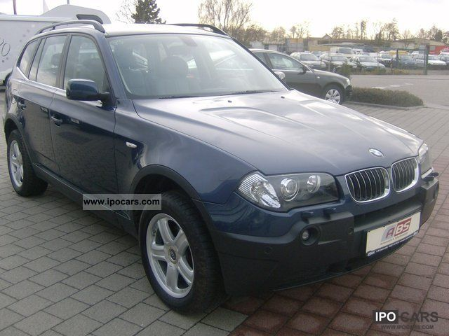 2005 bmw x3 leather navi xenon pdc pace car photo. Black Bedroom Furniture Sets. Home Design Ideas