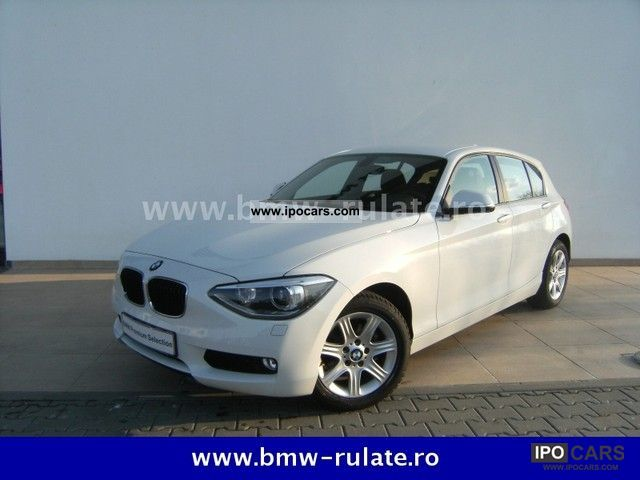 2012 BMW  116d Aut. Limousine Used vehicle photo