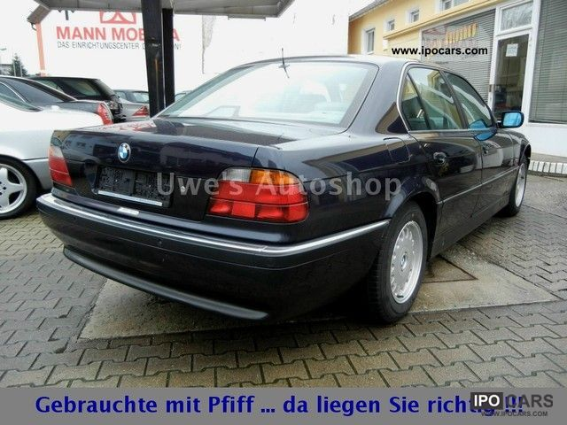 1997 Bmw 740i Navi Leather Phone Air Car Photo And