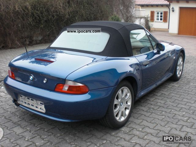 2001 bmw z3 roadster car photo and specs. Black Bedroom Furniture Sets. Home Design Ideas