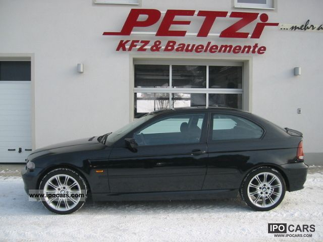 2004 bmw 320td compact climate aut 18 car photo and specs. Black Bedroom Furniture Sets. Home Design Ideas