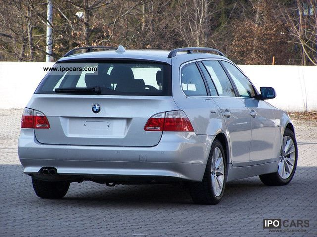 2006 bmw 525d touring car photo and specs. Black Bedroom Furniture Sets. Home Design Ideas