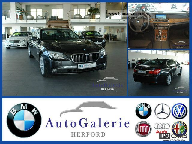 2010 BMW  730d - EUR 777, -/mth. no down payment Limousine Used vehicle photo