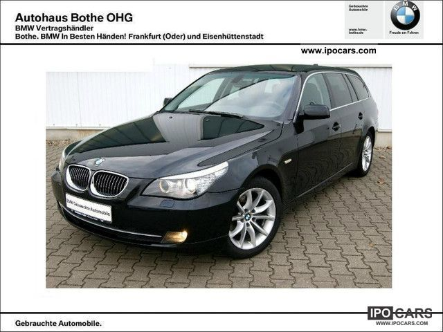 2007 BMW  525d Touring Xenon PDC Sitzhg Tempom 1.Hand Estate Car Used vehicle photo