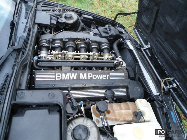 BMW M Air Partial Leather Hand Original Condition - 1990 bmw m5