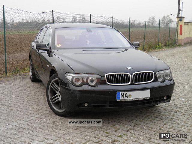 2004 BMW  740d Navi / heater / sunroof / leather Limousine Used vehicle photo