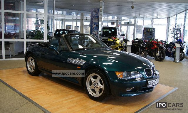 1997 BMW  Z3 roadster 1.8 Leather, Shz, 1.Hd., a few km Cabrio / roadster Used vehicle photo