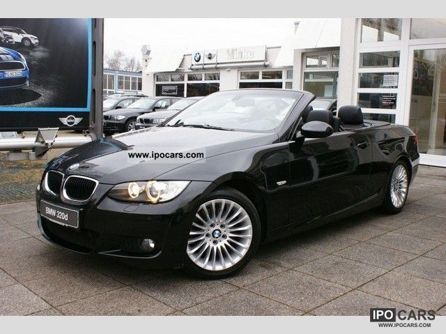 2008 bmw convertible 320d navi xenon leather car photo and specs. Black Bedroom Furniture Sets. Home Design Ideas