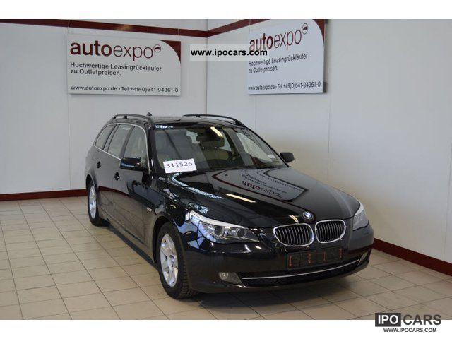 2008 BMW  525d Touring Aut., Navigation, leather, Soft Close Estate Car Used vehicle photo