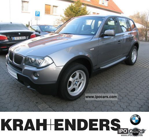 2008 BMW  X3 xDrive20d + Climate control Cruise control Off-road Vehicle/Pickup Truck Used vehicle photo