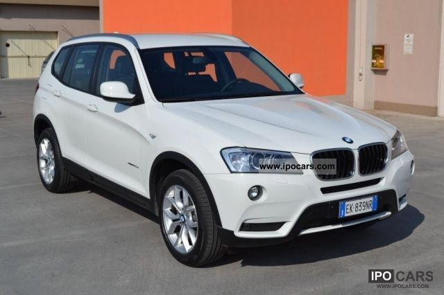 2011 BMW  X3 20d xDRIVE FUTURA AUT.NAVI XENOPDC NUOVASCONT Off-road Vehicle/Pickup Truck New vehicle photo
