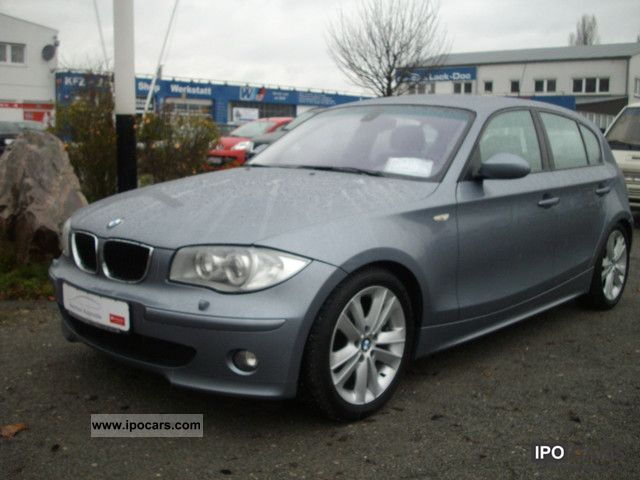 2004 BMW  118d diesel 72900km Limousine Used vehicle photo