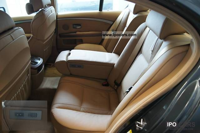 2008 Bmw 750i Luxury Seats Natural Brown Glasd 4xshz