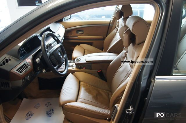 2008 Bmw 750i Luxury Seats Natural Brown Glasd 4xshz