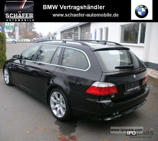 2007 bmw 535d touring night vision head up display ahk car photo and specs. Black Bedroom Furniture Sets. Home Design Ideas