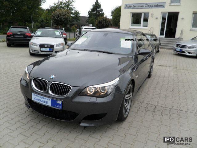 2008 BMW  M5 V-max 300km / h + head-up display, keyless + TV + +19 \ Limousine Used vehicle photo