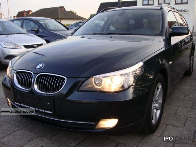 2008 BMW  525d Touring * XENON * NAVI * MODEL * NEW * Beige Leather Estate Car Used vehicle photo