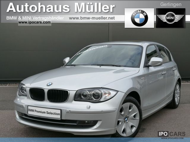 2010 BMW  116d 5-T. Xenon glass roof heated seats bluetooth Limousine Used vehicle photo