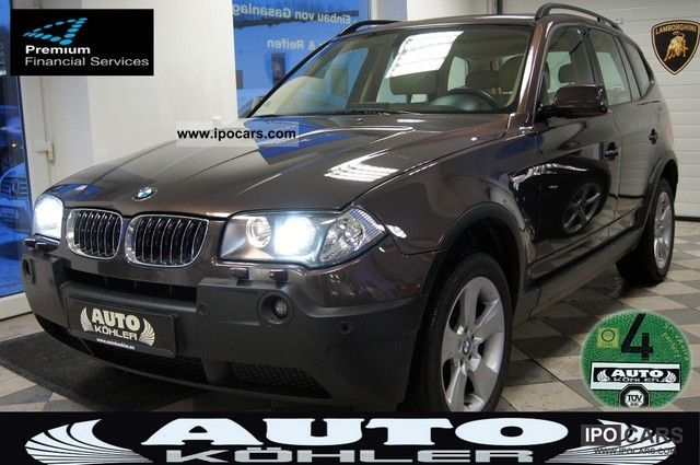 2006 BMW  X3 3.0d Aut. Leather Navi Panorama Individual TOP! Limousine Used vehicle photo
