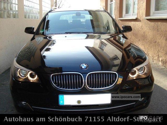 2008 BMW  525d Touring Aut. * Mod.09   T.Leder   GPS   Xenon * 1A * Estate Car Used vehicle photo