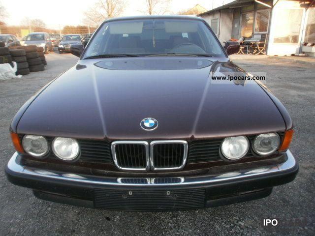 1991 BMW  730i car Maik Limousine Used vehicle photo