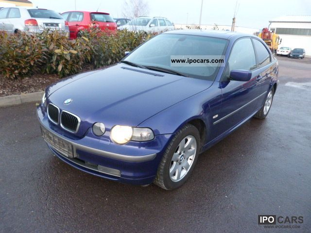 2003 bmw 318td compact xe leder climate control sunroof car photo and specs. Black Bedroom Furniture Sets. Home Design Ideas