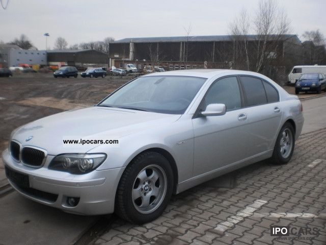 2007 BMW  730d car No 21 Limousine Used vehicle photo