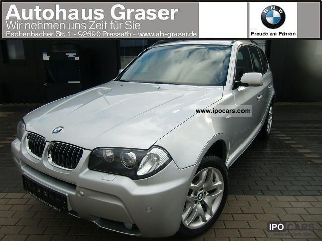 2005 BMW  X3 3.0d * funding rate mtl.250 € Limousine Used vehicle photo
