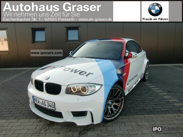 2011 BMW  1 Series M Coupe Safety Car appearance RRP: 63 230, - Sports car/Coupe Demonstration Vehicle photo