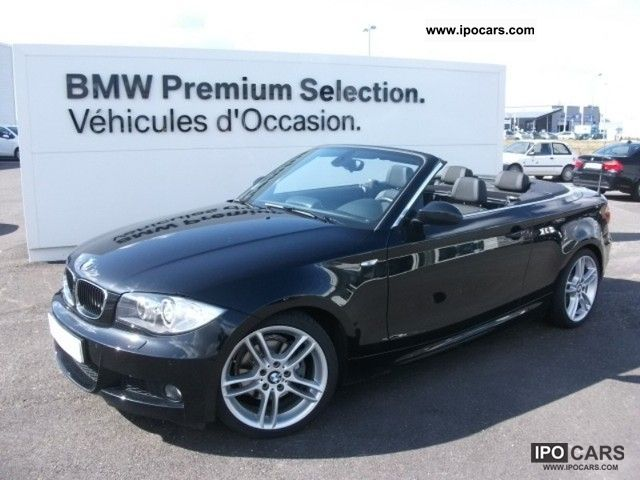 2008 BMW  Series 1 Cabriolet 125iA Sport Design Cabrio / roadster Used vehicle photo