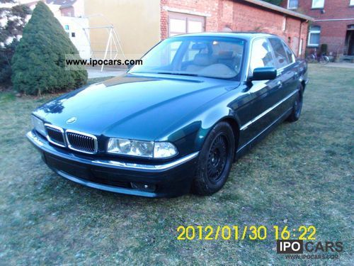 Worksheet. 1994 BMW 730i V8  Car Photo and Specs