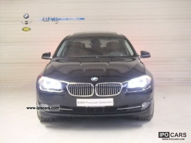 2010 BMW Adaptive Headlights 530d Navi Head-Up Display - Car Photo