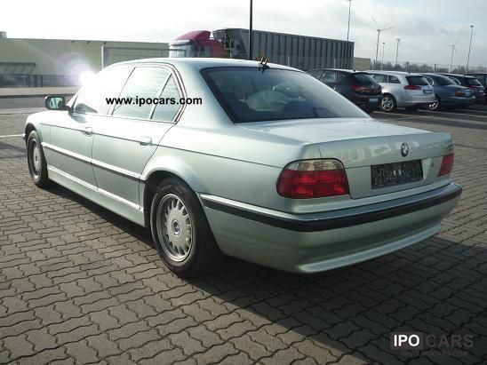 2001 BMW 730d Navi Xenon Leather - Car Photo and Specs