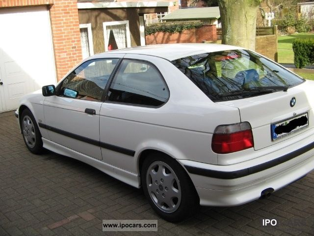 1999 bmw 323ti compact exclusive edition car photo and specs. Black Bedroom Furniture Sets. Home Design Ideas