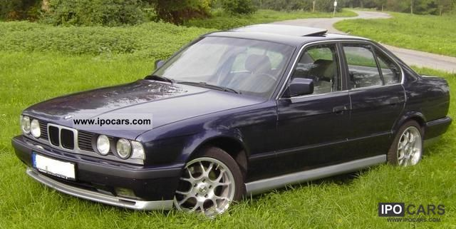 1990 Bmw 520i Car Photo And Specs