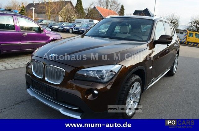 2009 BMW  X1 xDrive23d Aut. X-Line panoramic roof Limousine Used vehicle photo